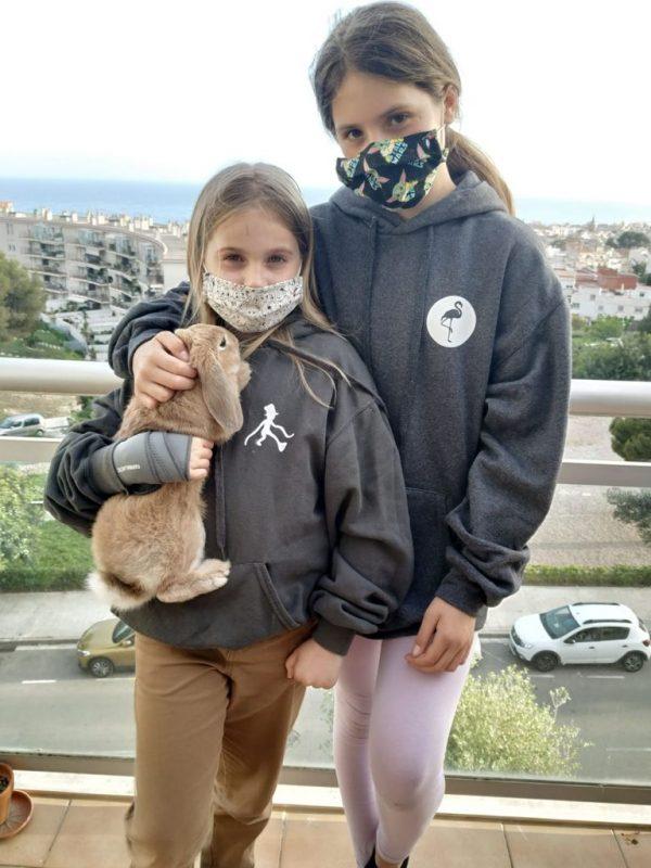 sudadera solidaria cancer infantil